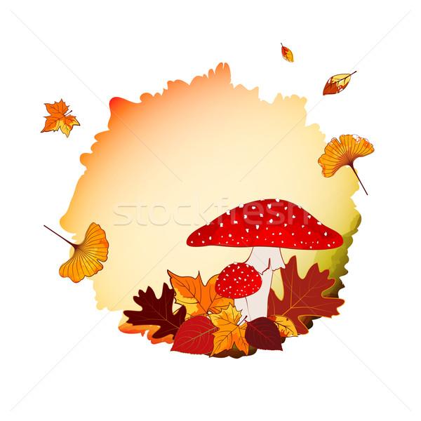 Colorful Autumn Background Stock photo © meikis