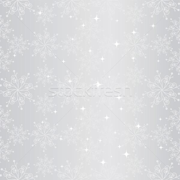 Foto stock: Natal · floco · de · neve · arte · inverno