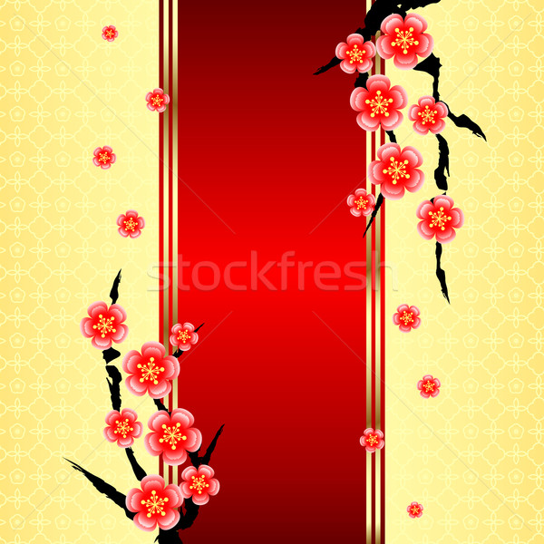Stock photo: Chinese New Year Greeting Card