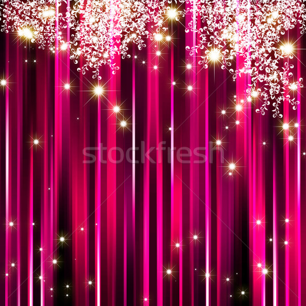 Star roze magenta partij abstract Stockfoto © meikis