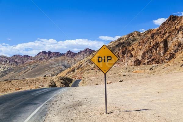 Stok fotoğraf: Manzaralı · yol · sürmek · ölüm · vadi · renkli