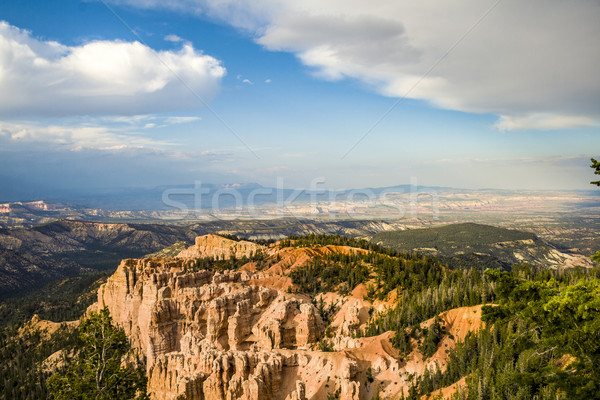 Bryce canyon with spectacular hoodoos   Stock photo © meinzahn
