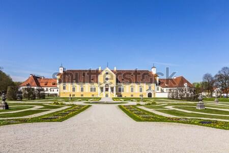 Schleissheim palace - Old Castle Stock photo © meinzahn