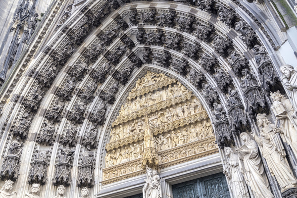 Parfüm Németország középkori porta fő- bejárat Stock fotó © meinzahn