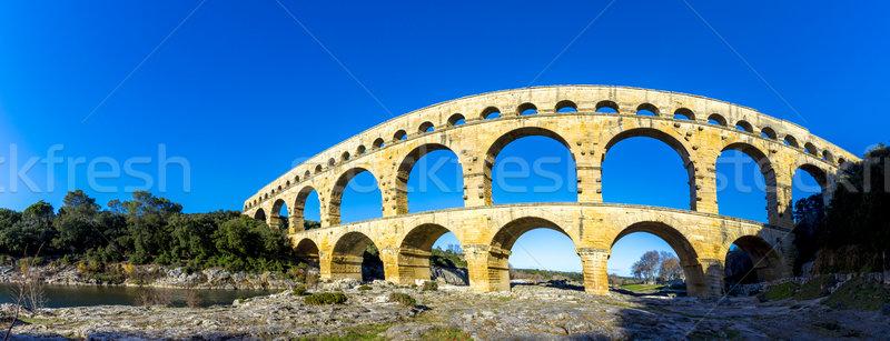 Velho romano França mundo pedra Foto stock © meinzahn