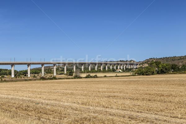 トール 道路 橋 フランス 2016 ストックフォト © meinzahn