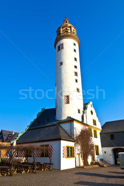 Noto medievale Francoforte sul Meno cielo blu castello Foto d'archivio © meinzahn