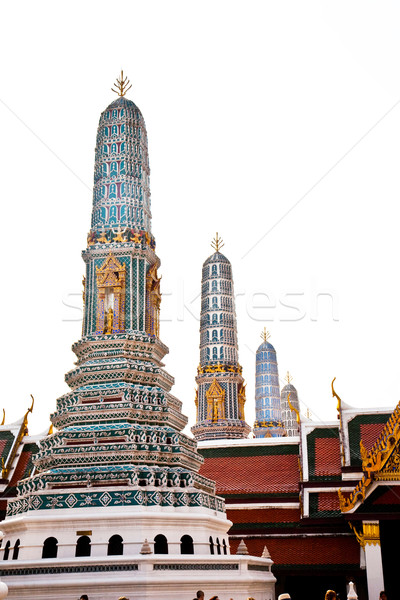 famous temple in the inner Grand Palace Stock photo © meinzahn