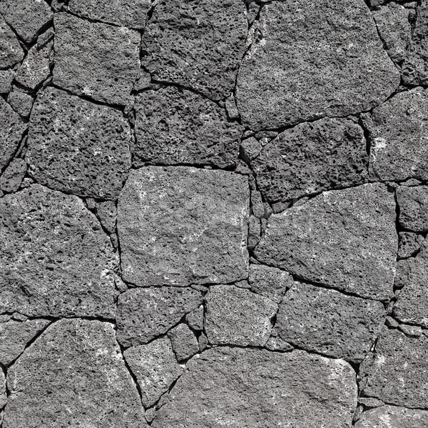 Textura preto parede canário canárias Foto stock © meinzahn