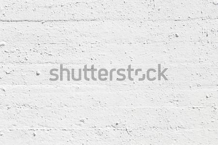 Stockfoto: Witte · muur · geschilderd · baksteen · muren · geven