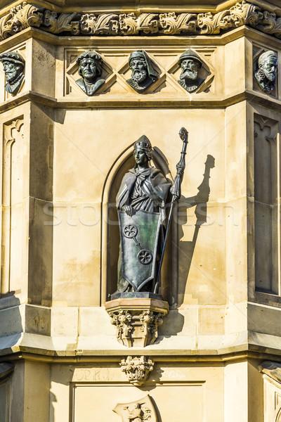 Sud sculpteur inventeur livre impression Francfort Photo stock © meinzahn