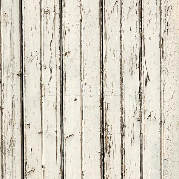 Verf hout harmonisch retro bouw abstract Stockfoto © meinzahn