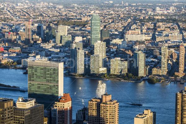 New York City view sicurezza architettura america sociale Foto d'archivio © meinzahn