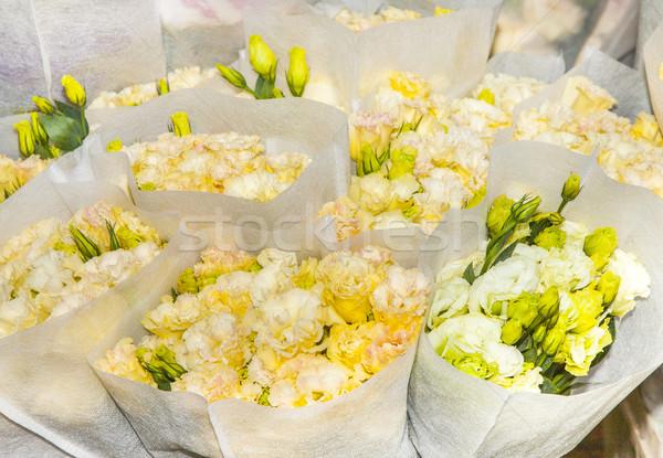 fresh flowers at the flower  Stock photo © meinzahn
