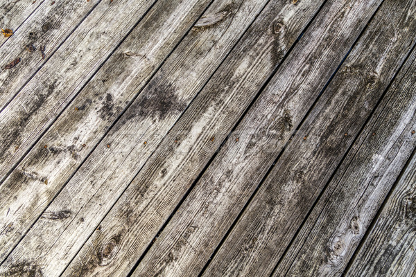 Grunge szürke barna fa fal textúra Stock fotó © meinzahn