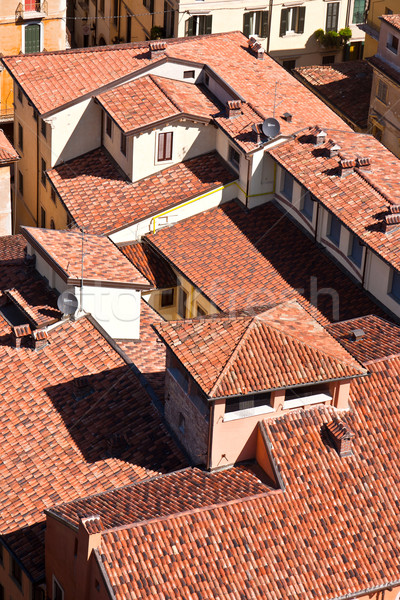 Panorama belo italiano cidade verona rua Foto stock © meinzahn