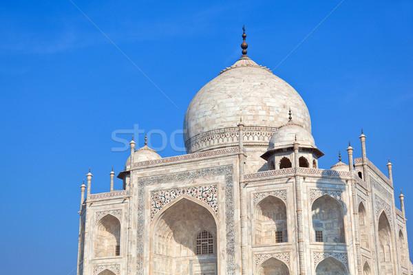 Taj Mahal Inde Voyage architecture blanche marbre Photo stock © meinzahn