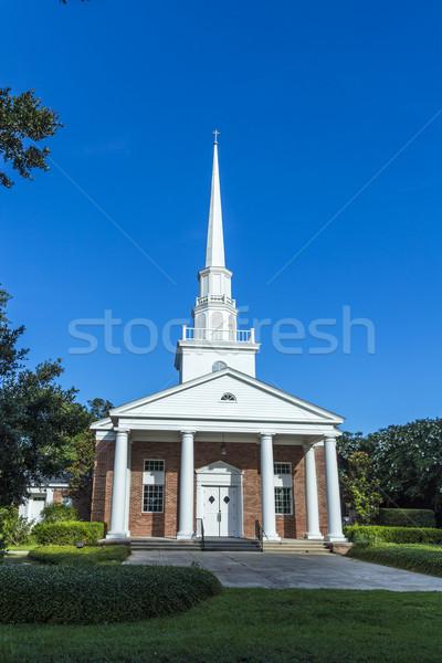 Fairhope  church from outside Stock photo © meinzahn