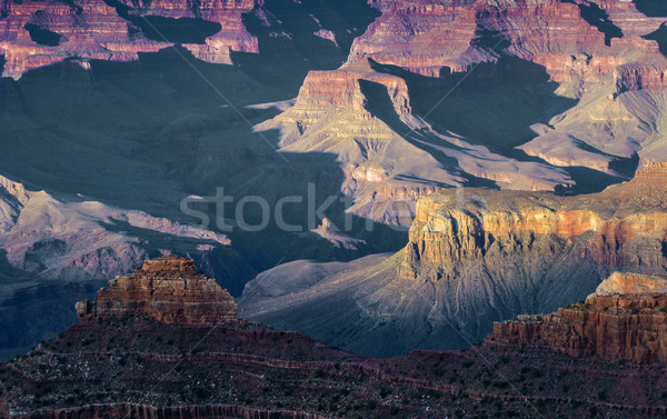 spectacular sunset at Grand canyon Stock photo © meinzahn