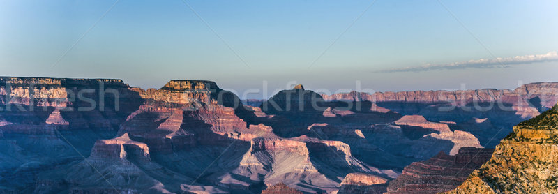 Spectaculaire coucher du soleil Grand Canyon Arizona nature montagne Photo stock © meinzahn
