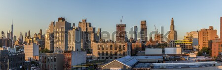 skyline of New York seen from downtown Brooklyn Stock photo © meinzahn