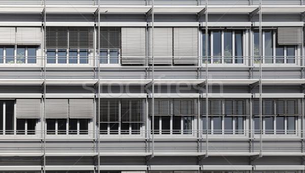 Fachada moderno prédio comercial Foto stock © meinzahn