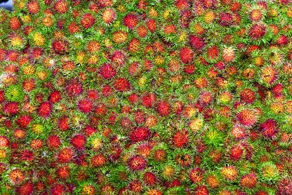 édes gyümölcsök hasonló étel háttér piros Stock fotó © meinzahn