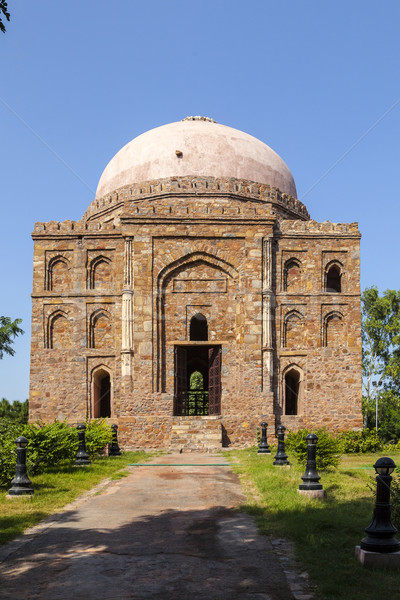 Graf tuin Delhi kunst asia godsdienst Stockfoto © meinzahn