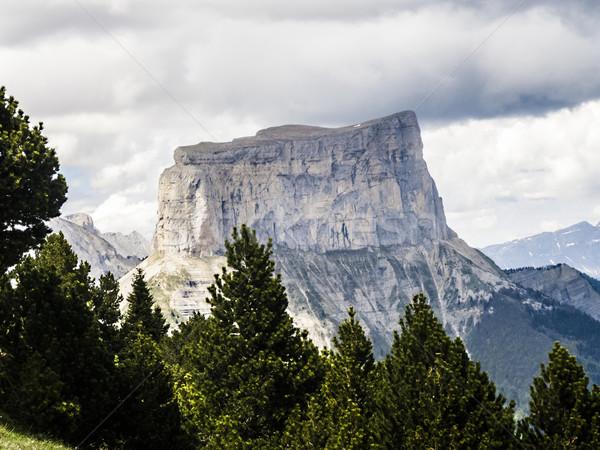 Mont Aiguille, Vercors, France  Stock photo © meinzahn