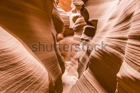 Antelope Slot Canyon, Page Arizona Stock photo © meinzahn