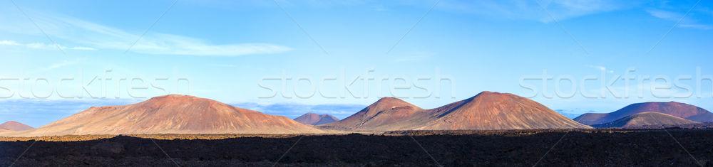 Parque canárias Espanha ilha paisagem deserto Foto stock © meinzahn