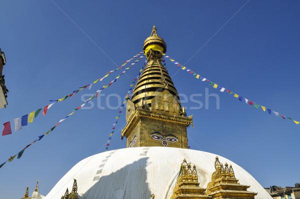 The Great stupa Bodnath in Kathmandu Stock photo © meinzahn