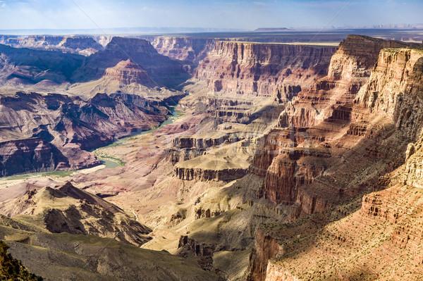 Kanyon kilátás folyó Stock fotó © meinzahn