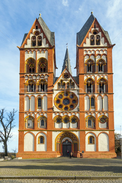 Gothic kopuła Niemcy piękna kolory słynny Zdjęcia stock © meinzahn