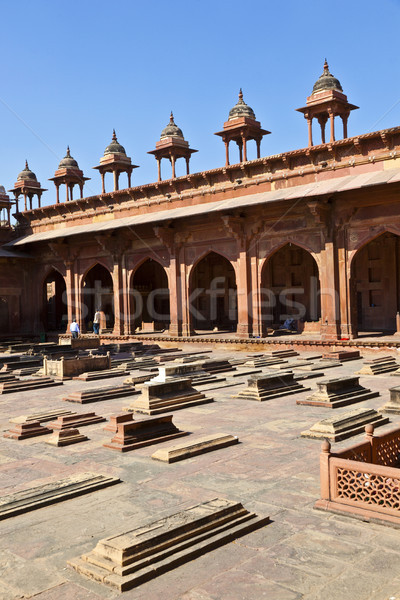 Jama Masjid in Fatehpur Sikri is a mosque in Agra, completed in  Stock photo © meinzahn