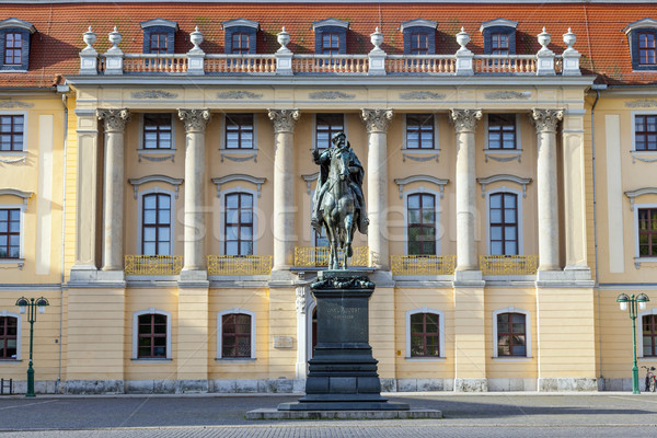 Carl-August Monument (Weimar)  Stock photo © meinzahn