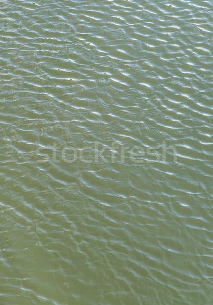 Vento armonica modello onda fiume lago Foto d'archivio © meinzahn
