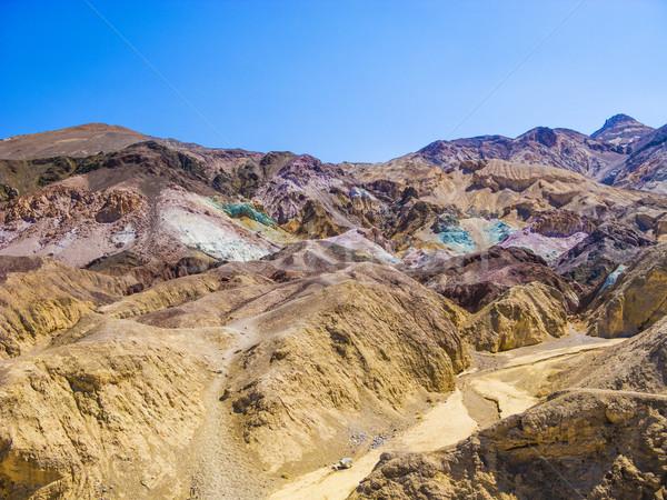 Punkt dysk śmierci dolinie parku palety Zdjęcia stock © meinzahn