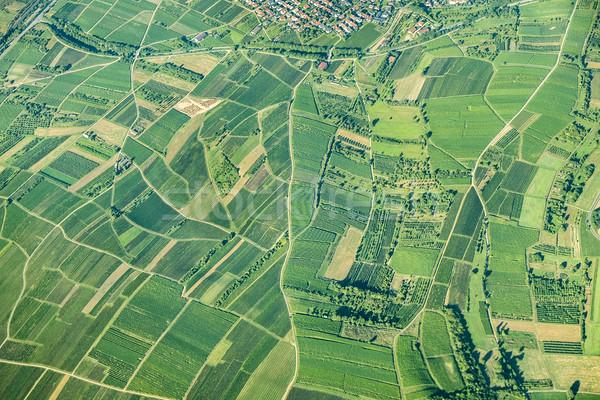 Scenico view campi rurale natura panorama Foto d'archivio © meinzahn