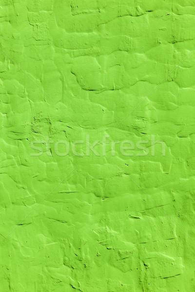 Textura grunge verde cemento pared diseno pintura Foto stock © meinzahn