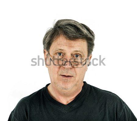 portrait of man in sorrow Stock photo © meinzahn