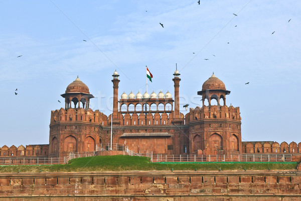 India, Delhi, the Red Fort, it was built by Shahjahan as the Del Stock photo © meinzahn