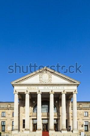 famous casino in Wiesbaden Stock photo © meinzahn