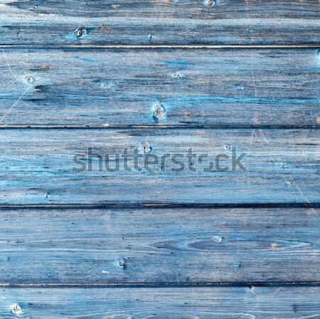 Wooden texture of blue color as background Stock photo © meinzahn