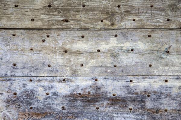 Foto stock: Grunge · madera · utilizado · Rusty · unas · árbol