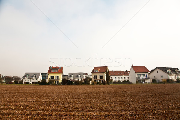 new settlement on the boarder of acres, building site for detach Stock photo © meinzahn