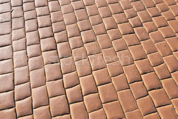 red brick floor background  Stock photo © meinzahn