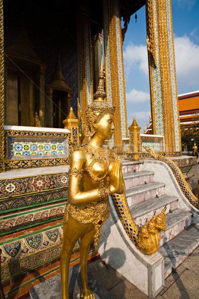 Mythologie cijfer kijken tempel goud asia Stockfoto © meinzahn