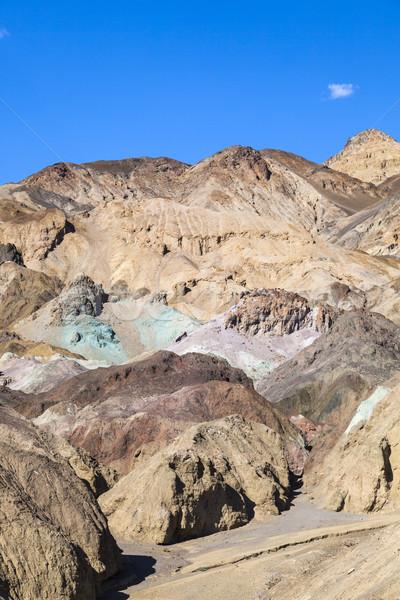 Palety śmierci dolinie drogowego niebieski rock Zdjęcia stock © meinzahn