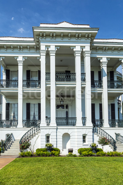 historic Nottoway plantation in Louisiana Stock photo © meinzahn